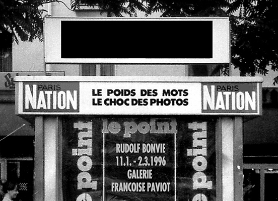 invitation Paviot 1996